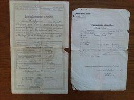 Kolekcjonerski rarytas - przodek dzisiejszych świadectw szkolnych