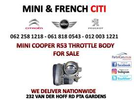 Mini R53 Throttle body for sale
