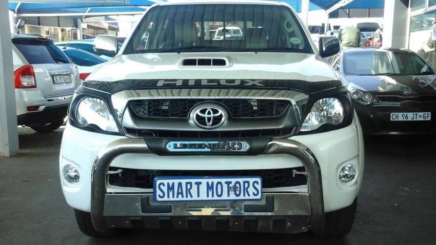 Pre -Owned TOYOTA HILUX D4D LEGEND 40 AUTO 3.0  Engine 0