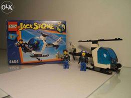 Policja Helikopter LEGO 4+ dla najmłodszych ludziki figurka Jack Stone