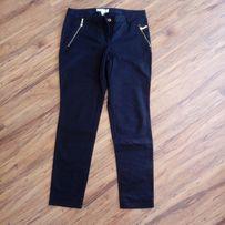 Nowe czarne eleganckie damskie spodnie z USA, rozmiar 36