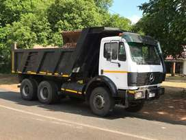 10cube truck tippers and tautliners