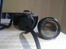 Pentax P30t camera with 50mm and 28-80mm lens