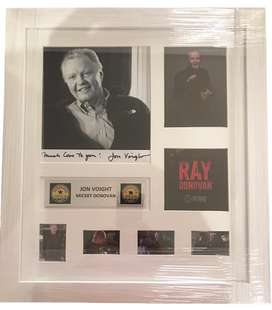 Ray Donovan frame Signed by Jon Voight