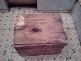 Деревянный ящик винтажный. С защелкой