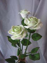 Роза из полимерной глины. Оригинальный подарок женщине, начальнице