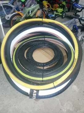 Quality Bicycle Tyres Sizes 12 to 26