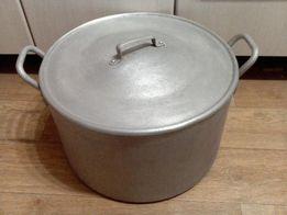 Кастрюля алюминиевая 45 литров