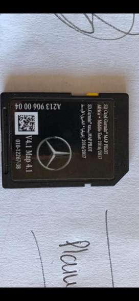 Merceds Benz Map Pilot SD card