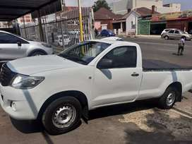 2012 Toyota hilux bakkie single cab VVTI
