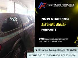 #2 Now Stripping Jeep Grand Voyager for spares