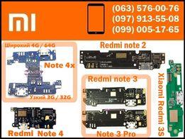 Нижняя плата Xiaomi redmi 2 3 3s 4a 4x 5 Note 2 3 4x Pro mi4s зарядка