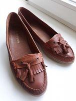 Туфли,лоферы р 39(25см),нат.кожа,Португалия