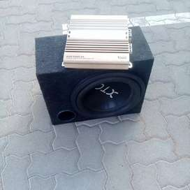 SUB - XTC and 1200W AMP 2 channel