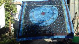 Продам покрывало-скатерть ИНДИЯ мотив - солнце, луна, звёзды, гороско
