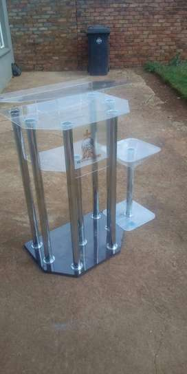 6 Leg With 2 Side Table