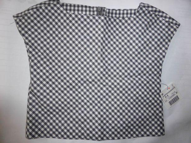 ZARA bluzka top kratka Vichy 4-5 lat 110 nowa Szczecin - image 2