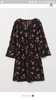 Wzorzysta sukienka H&M hm rozmiar xs/34