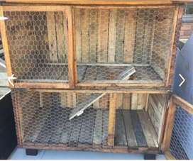 Looking for a rabbit hutch