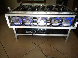 2-in-1 Crypto Currency Mining Rig Powerhouse