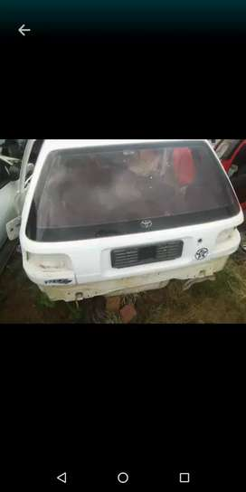 I need Any Toyota Tazz for deposit and instalment