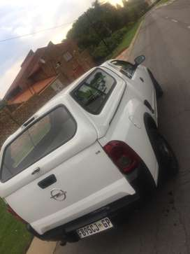 Opel Corsa utility 2009 with canopy