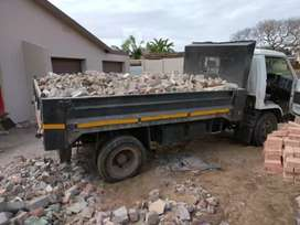 R100.RUBBLE REMOVAL 'TLB TIPPER TRUCK HIRE