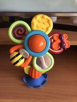 Игрушка детская Погремушка развивающая цветочек