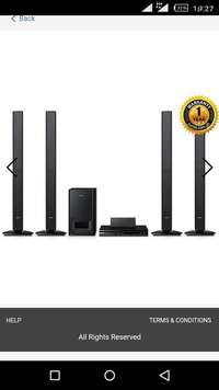 Image of 500watts Samsung Home theater