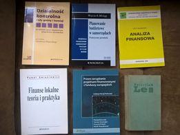 książki Działalność kontrolna rady gminy i komisji, Finanse lokalne