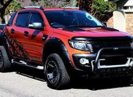Ford Ranger T6 Scoops