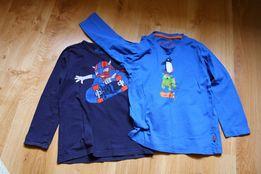 Chłopięce koszulki 5-6 lat długi rękaw