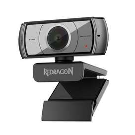 Redragon APEX GW900 HD 30 FPS Webcam with Clip on stand - Black