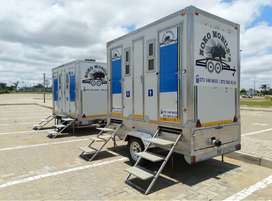 Mobile VIP toilet 4 hire