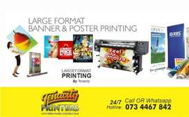 Same day 24/7 Banner and Vinyl Printing Services