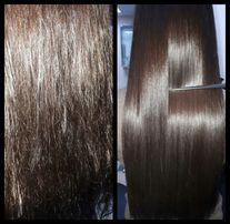 Ботокс, полировка волос, разные техники окрашивания, стрижки