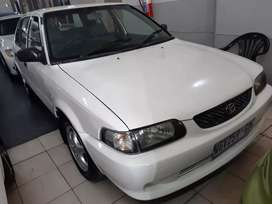 Toyota Tazz 1.3 R 45,000 negotiable
