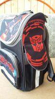 Рюкзак школьный ортопедический Kite , рисунок трансформеры