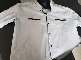 Męska koszula elegancka 43/44 xl