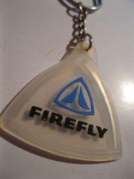 коллекционный старый брелок резина FIREFLY