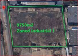 9758m2 Prime Vacant land Zoned Industrial 1 – Anderbolt