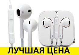 Наушники дляIphone 5S 5C 6S 4 earPods appleТелефона айфонаПлеера бега