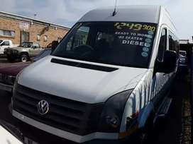 2013 VW Crafter 22 seater