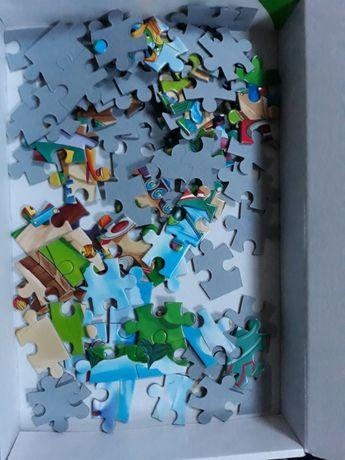 puzzle auta 90 elementów Kraków - image 1
