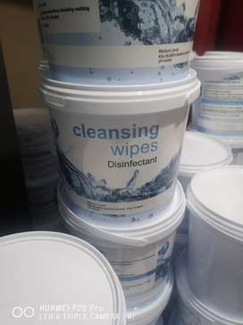 Disinfectant wipes 500 wipes per bucket 330 for a bucket