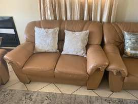 6 seater couches (set)
