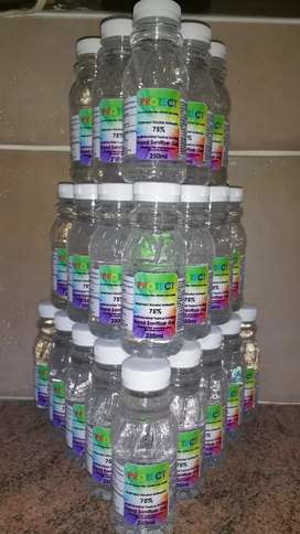 PROTECT HAND SANITIZER GEL 75% ALCOHOL, NO STICKY RESIDUE R40