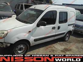 NISSAN KANGOO NOW STRIPPING FOR SPARES INT & EXT PARTS AVAILABLE