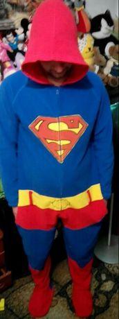Карнавальный костюм ковбой Вуди. Супермен.Флисовый человечек,слип,