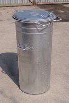 Pojemnik na odpady OCYNK kosz na POPIÓŁ śmieci NOWY 110 120 mocny!